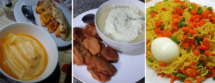 Nigerians eat for breakfast