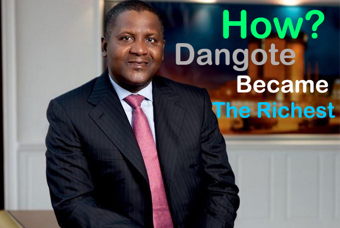 Dangote became the richest